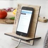 Lisa Angel Men's Personalised Wooden Phone Holder