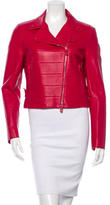 Valentino Leather Moto Jacket w/ Tags