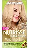 Garnier Nutrisse Ultra Color Nourishing Color Creme, LB1 Ultra Light Cool Blonde (Packaging May Vary)