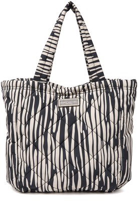Marc Jacobs Printed Quilted Nylon Tote