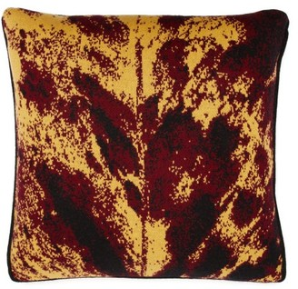 SAVED NY Marble Mirror Cashmere Cushion - Beige