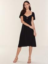 ASTR the Label Rachelle Button Front Midi Dress