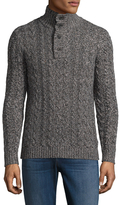 Saks Fifth Avenue Wool Cableknit Sweater