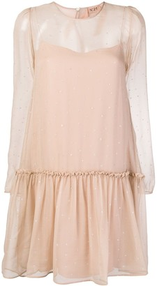 No.21 Star-Embellished Dress