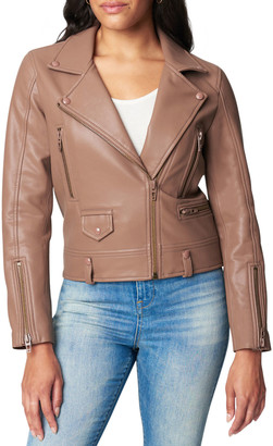 Blank NYC Sought After Faux-Leather Moto Jacket