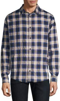 The Kooples Plaid Button-Front Shirt