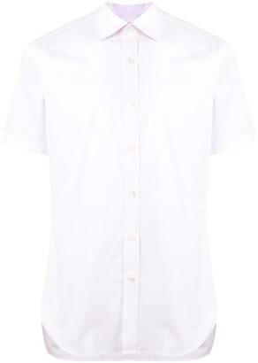 Kent & Curwen Pointed Collar Short Sleeve Shirt