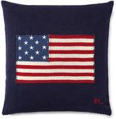 Ralph Lauren Home Rl Flag Cotton Throw Pillow