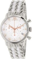 88 Rue du Rhone Women's 'Double 8 Origin' Swiss Quartz Stainless Steel Dress Watch, Color:Silver-Toned (Model: 87WA143508)
