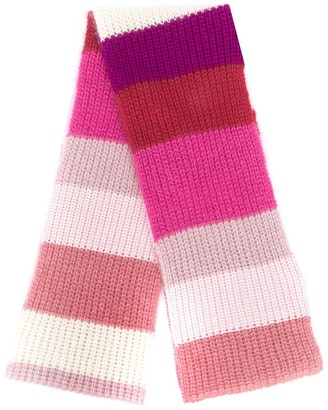 Marni Striped Long Scarf