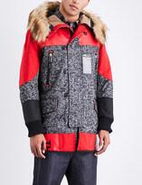 Junya Watanabe x The North Face wool-blend parka jacket