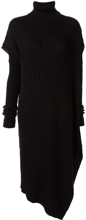 G.V.G.V. asymmetric knitted dress