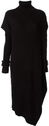 G.V.G.V. asymmetric knitted dress