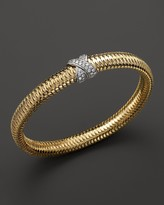 Roberto Coin 18K Yellow Gold Primavera Bangle