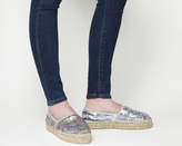 Office Frieda Sequin Espadrilles
