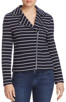 Bagatelle Stripe Moto Jacket