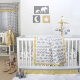 The Peanut Shell Ellie Sunshine 4 Piece Crib Bedding Set
