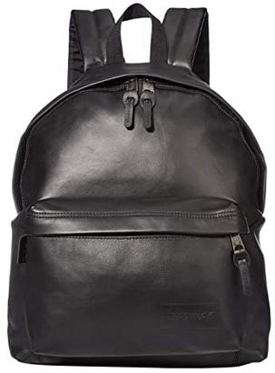 Eastpak Padded Pak'R (Black Ink Leather) Backpack Bags