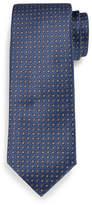 Brioni Circle Medallion Neat Silk Tie