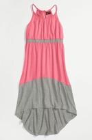 Paperdoll Paper Doll Colorblock Maxi Dress (Little Girls & Big Girls)
