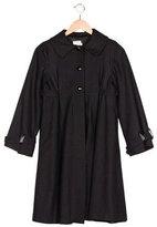 Helena Girls' Wool-Blend Button-Up Coat