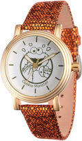 Sesame Street Womens Brown Strap Watch-Wss000012
