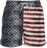 MC2 Saint Barth Gustavia American Flag Swim Shorts
