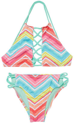 Dippin' Daisy's Strappy Bikini Top & Bottom Set