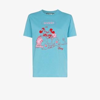 Gucci X Disney Mickey print cotton T-shirt