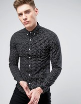 ONLY & SONS Shirt In All Over Print In Slim Fit