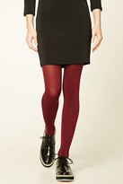 Forever 21 FOREVER 21+ Opaque Tights - 2 Pack