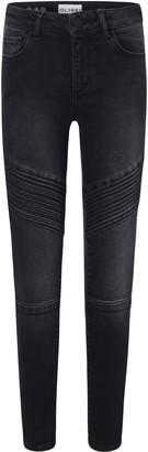 DL1961 Chloe Moto Skinny Jeans