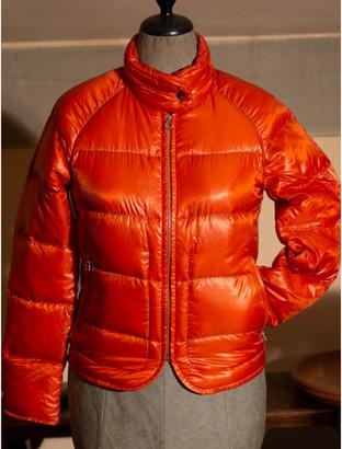 Hermes Orange Synthetic Coats