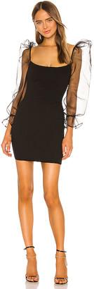 Nookie Eleganza Long Sleeve Mini Dress