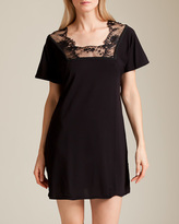 La Perla Maharani Short Sleeve Nightgown