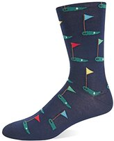 Hot Sox Men's Golf Crew Sock