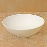 J.L. Coquet Hemisphere White Soup Bowl, Small