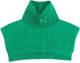 Nina Ricci ribbed turtleneck collar