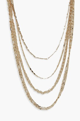 boohoo Multi Chain Necklace Pack