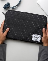 Herschel Anchor Sleeve For Macbook 13in In Black