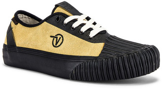 Vans x Taka Hayashi Authentic One Piece LX in Antique Gold & Black | FWRD