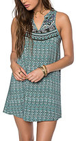 O'Neill Gemma Border Print Tank Dress