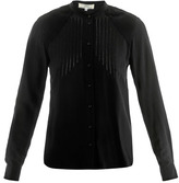 Vanessa Bruno Pin-tuck silk blouse