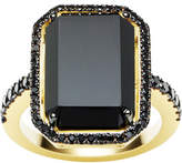 Black Diamond Jan Logan 18ct Onyx La Rambla Ring