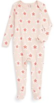 Stella McCartney 'Rufus' Fitted Star Print Footie (Baby)