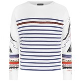 Ikks IKKSGirls Ivory Striped Jersey Top