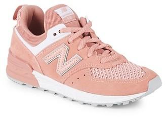 New Balance Little Girl's Girl's 574 Sneakers