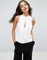Asos Shell Top With KeyHole