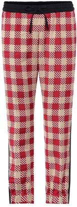 Dries Van Noten Plaid cotton pants