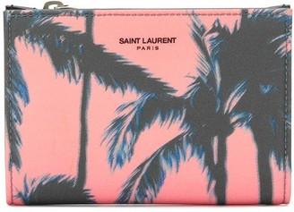 Saint Laurent Palm Tree Wallet